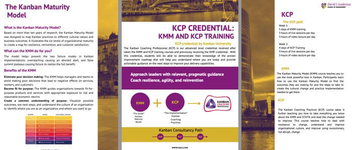 kanban coaching professional KCP brochure
